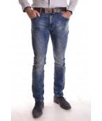 """Pánske elastické rifľové nohavice M-SARA """"KA9279"""""""