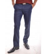 """Pánske elegantné nohavice """"JOY MEN"""" - modré"""