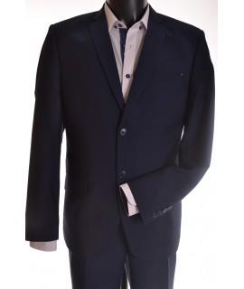 Pánsky oblek - modro-čierny 2. (v. 176 cm)
