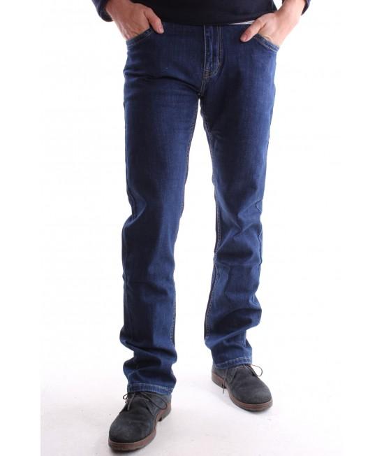 """Pánske rifľové elastické nohavice """"ROBOTFISH"""" (ET7016-154) - modré"""