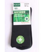 Pánske bambusové zdravotné ponožky (v. 39-42) - tmavozelené