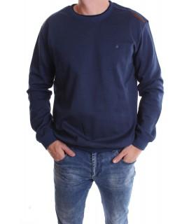 Pánske elastické tričko (9731) - modré