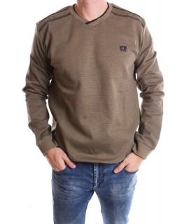 Pánske elastické tričko (9725) - zelené