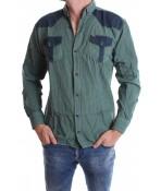 Pánska košeľa VZOR 5. - zelená