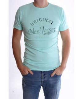 "Pánske elastické tričko ""ORIGINAL-NEW JERSEY"" - zelené"