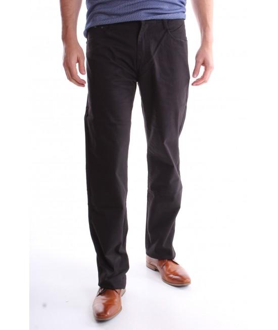 Pánske elastické športovo-elegantné nohavice R.PING (KA8206-3) - čierne
