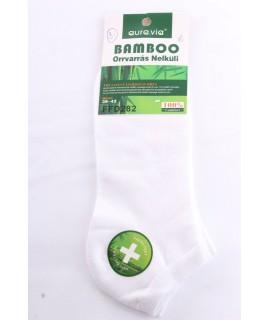 Pánske bambusové členkové ponožky FFD282 (v. 39-42) - biele