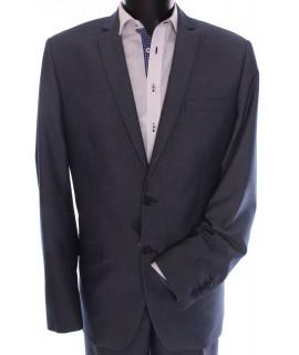 Pánsky oblek (v. 188 cm) - sivo-modrý