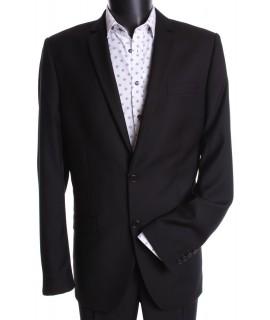 Pánsky oblek (v . 188 cm) - čierny 4.