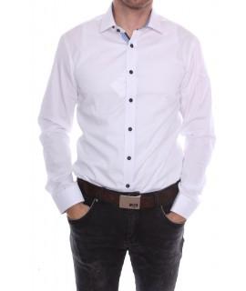 83825254345e Pánska košeľa PIETRO MONTI VZOR 4. CLASSIC - biela (v. 176-182