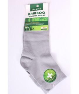 Pánske bambusové ponožky (FFZ360) - bledosivé