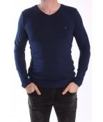 Pánske elastické tričko -MJ-1- modré