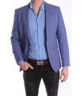Pánske športovo-elegantné sako MODEL 3458 - modré