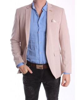 Pánske športovo-elegantné sako MODEL 3365 - béžové