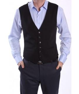 Pánska vesta - čierna