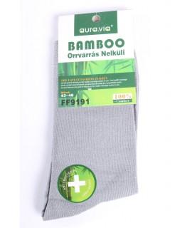 Pánske bambusové ponožky (FF9191) - bledosivé
