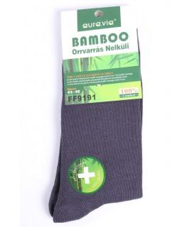 Pánske bambusové ponožky (FF9191) - tmavosivé