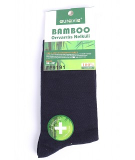 Pánske bambusové ponožky (FF9191) - tmavomodré