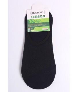 Pánske bambusové členkové ponožky FFD383 - tmavomodré