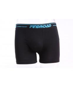 Pánske bambusové boxerky FINDROAD UNDERWEAR ( H7112 ) - čierne