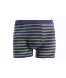Pánske bambusové boxerky FINDROAD UNDERWEAR ( H7106) - pásikave - zeleno-modré