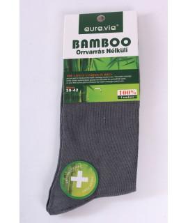 Pánske bambusové ponožky (FF9191) - sivo-zelené
