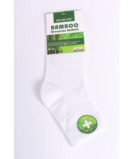Pánske bambusové ponožky (FFZ362) - biele