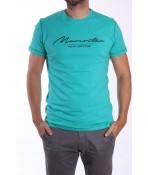 Pánske tričko s nápisom - zelené