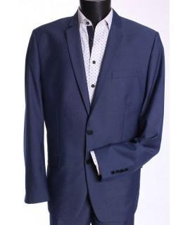 Pánsky oblek KAROL KLASYK (v. 176 cm) - modrý