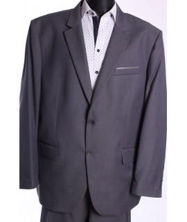 Pánsky oblek LUCCANO B. (v. 182 cm) - sivý