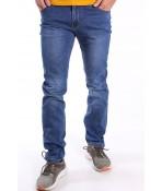 Pánske elastické riflľové nohavice (TF2585-2) - modré