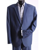 Pánsky oblek WIKTOR (v. 182 cm) - bledomodrý