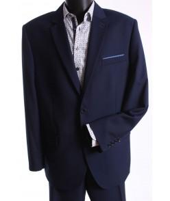 Pánsky oblek ALAN SYLWETKA B. (v. 176 cm) - modrý