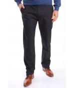 """Pánske elastické športovo-elegantné nohavice """"DIVIDERS"""" MODEL 2151 - sivo-čierne 1."""