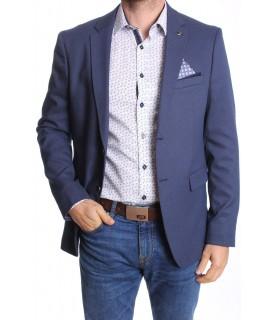 Pánske športovo-elegantné sako MODEL 3150 - modro-biele