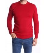 Pánsky pulóver (191406) POOLL PARK - červený