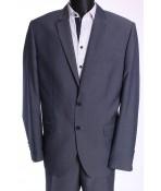 Pánsky oblek HARRY (v. 182 cm) - sivomodrý