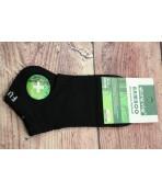 Pánske bambusové členkové ponožky FFD 3362- čierne