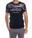 Pánske elastické tričko (554) - tmavomodré