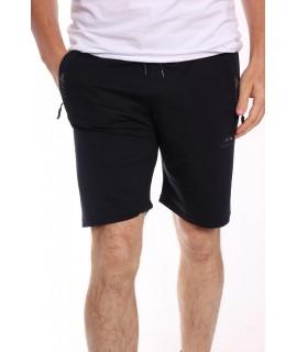 Pánske elastické krátke nohavice (6027) - tmavomodré