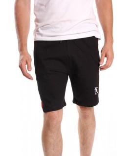 Pánske bavlnené krátke nohavice SUPER GLR. SPORTWEAR - čierne