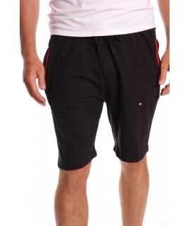 Pánske bavlnené krátke nohavice SUPER GLR. SPORT - čierne