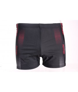 Pánske plavky (416A) - červeno-čierne