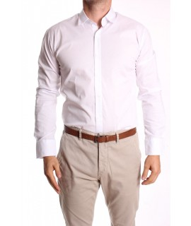 Pánska elastická košeľa RAWLUCCI (774) - biela