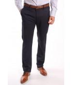 Pánske elastické športovo-elegantné nohavice ENZO 7666 - tmavomodré