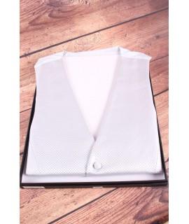 Pánska vesta v darčekovom balení (WD-2016) - bledosivá