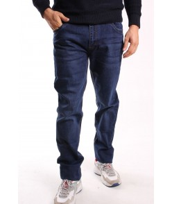 Pánske elastické rifľové nohavice NEWSKY (X35655) SLIM - modré