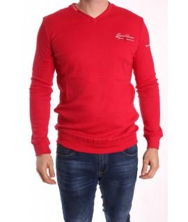 Pánske bavlnené tričko ELVIS SPORT (477) - červené