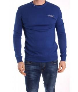 Pánske bavlnené tričko ELVIS SPORT (600) - kráľovské modré