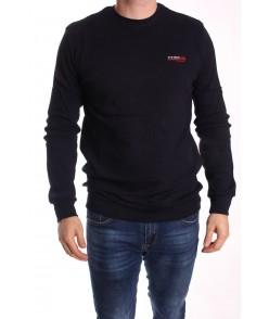 Pánske bavlnené tričko ELVIS SPORT (295) - čierne